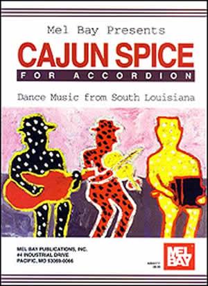 Larry Hallar: Cajun Spice For Accordion: Accordion
