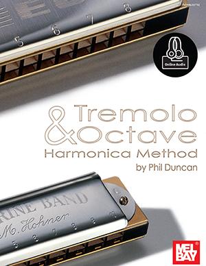 Phil Duncan: Tremolo And Octave Harmonica Method Book: Harmonica: Instrumental