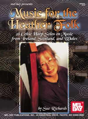 Sue Richards: Music For The Heather Folk: Harp: Instrumental Album