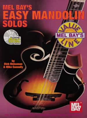 Dick Weissman: Easy Mandolin Solos Book/Cd Set: Mandolin: Instrumental Album