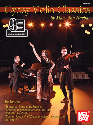 Mary Ann Harbar Willis: Gypsy Violin Classics Book: Violin: Instrumental Album