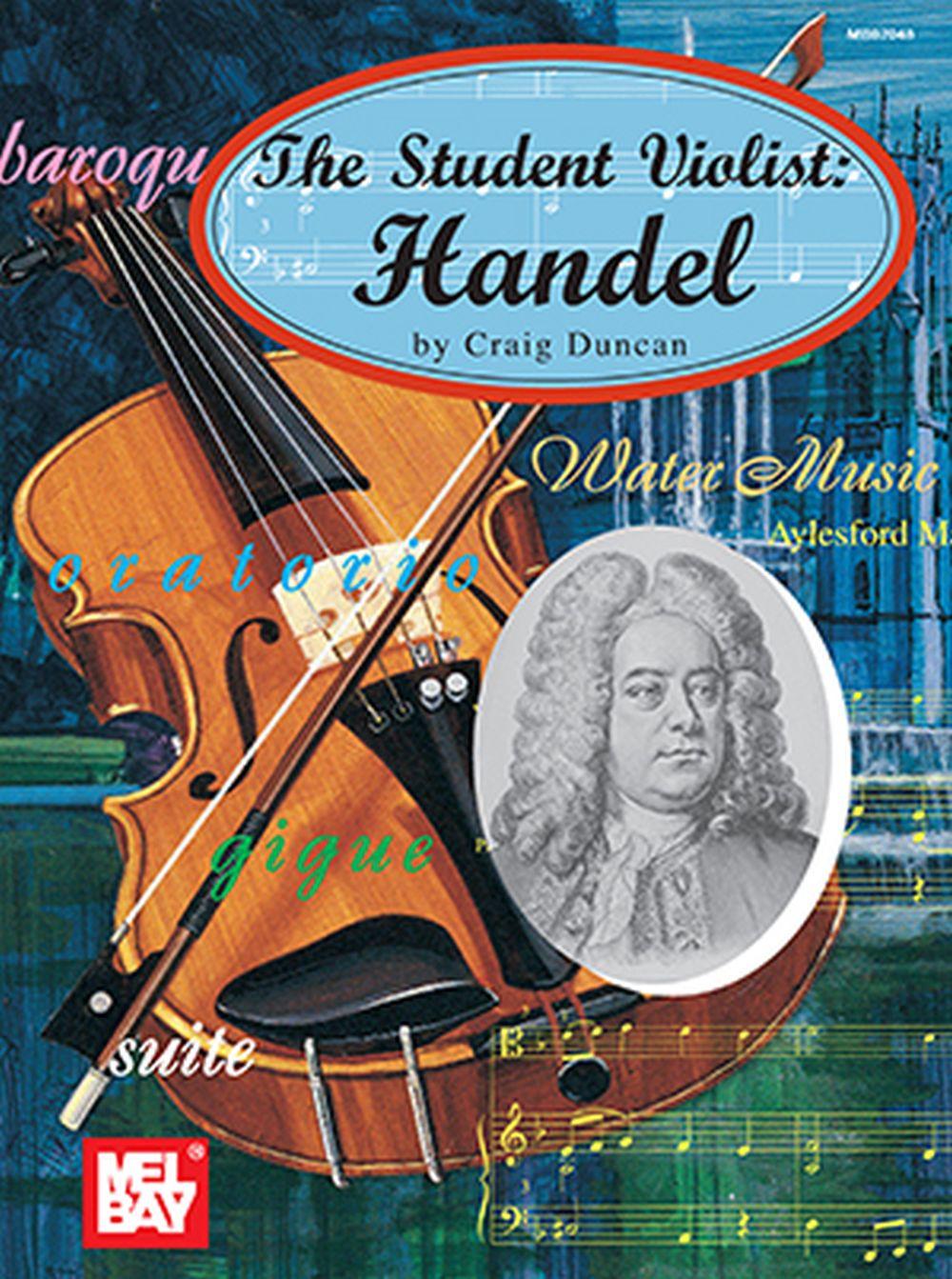 Craig Duncan: The Student Violist: Handel: Viola: Instrumental Album