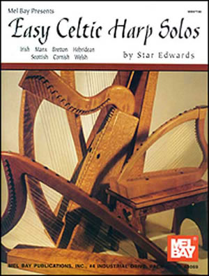 Star Edwards: Easy Celtic Harp Solos: Harp: Instrumental Album