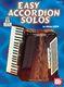 Michel Lorin: Easy Accordion Solos: Accordion: Instrumental Work