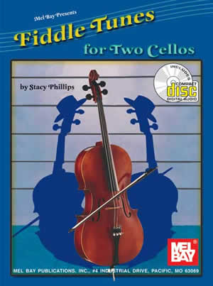 Stacy Phillips: Fiddle Tunes for Two Cellos: Cello: Instrumental Tutor