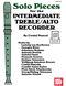 Costel Puscoiu: Solo Pieces: Treble Recorder: Instrumental Album