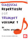 Costel Puscoiu: Classical Repertoire For Trumpet  Volume 1: Trumpet:
