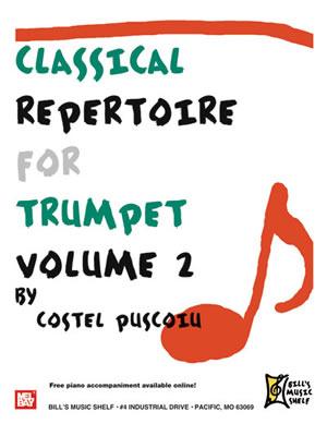 Costel Puscoiu: Classical Repertoire for Trumpet  Volume 2: Trumpet: