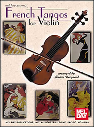 Martin Norgaard: French Tangos For Violin: Violin: Instrumental Album