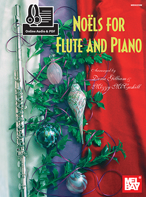 Noels For Flute And Piano Book With Online Audio: Flute: Instrumental Album
