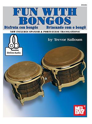 Trevor Salloum: Fun With Bongos Book With Online Audio: Bongos: Instrumental