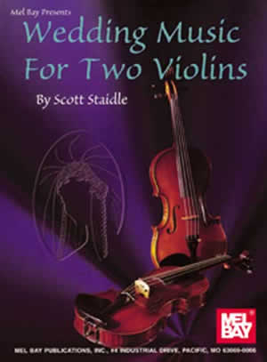 Staidle: Wedding Music For Two Violins: Violin Duet: Score and Parts