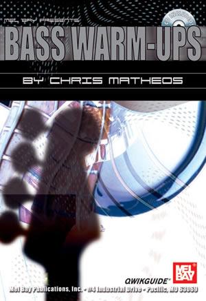 Christ Matheos: Bass Warm-Ups Qwikguide Book/Cd Set: Bass Guitar: Study