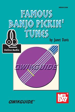 Janet Davis: Famous Banjo Pickin' Tunes Qwikguide: Banjo: Instrumental Work