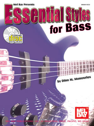 Monoxelos: Essential Styles: Bass Guitar: Instrumental Work