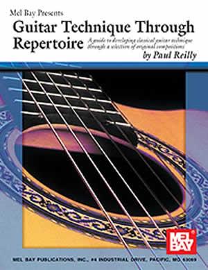 Paul Reilly: Guitar Technique Through Repertoire: Guitar: Study