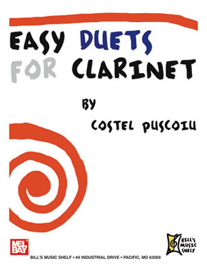 Costel Puscoiu: Easy Duets for Clarinet: Clarinet