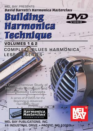 David Barrett: Building Harmonica Technique Volumes 1 and 2: Harmonica: Study