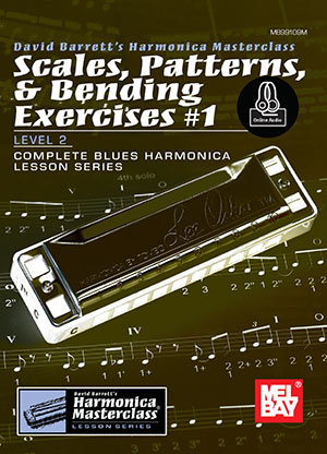 David Barrett: Scales  Patterns and Bending Exercises #1 Book: Harmonica: