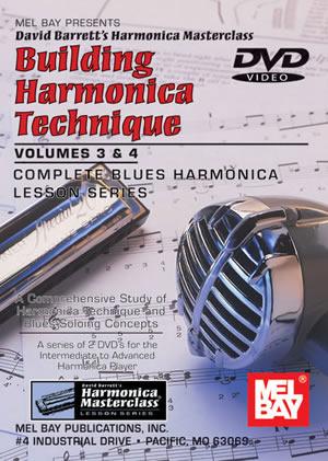 Barrett: Building Harmonica Technique 3 + 4: Harmonica: Study