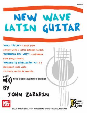 John Zaradin: New Wave Latin Guitar: Guitar: Instrumental Album