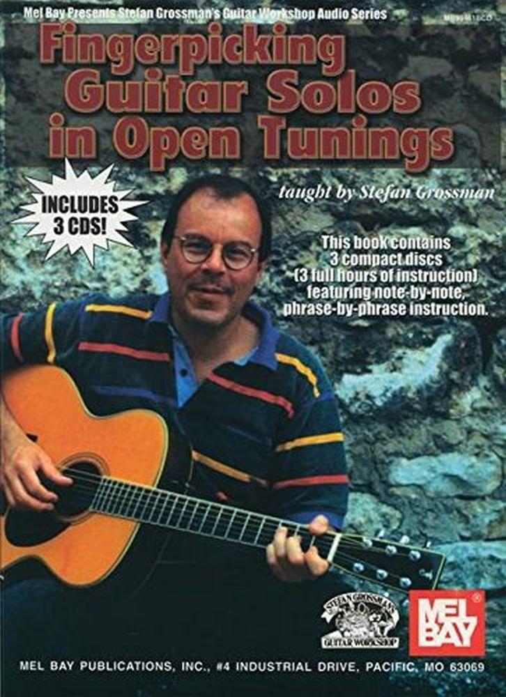 Stefan Grossman: Fingerpicking Guitar Solos In Open Tunings: Guitar: