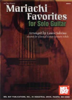 Laura Sobrino: Mariachi Favorites For Solo Guitar: Guitar TAB: Instrumental