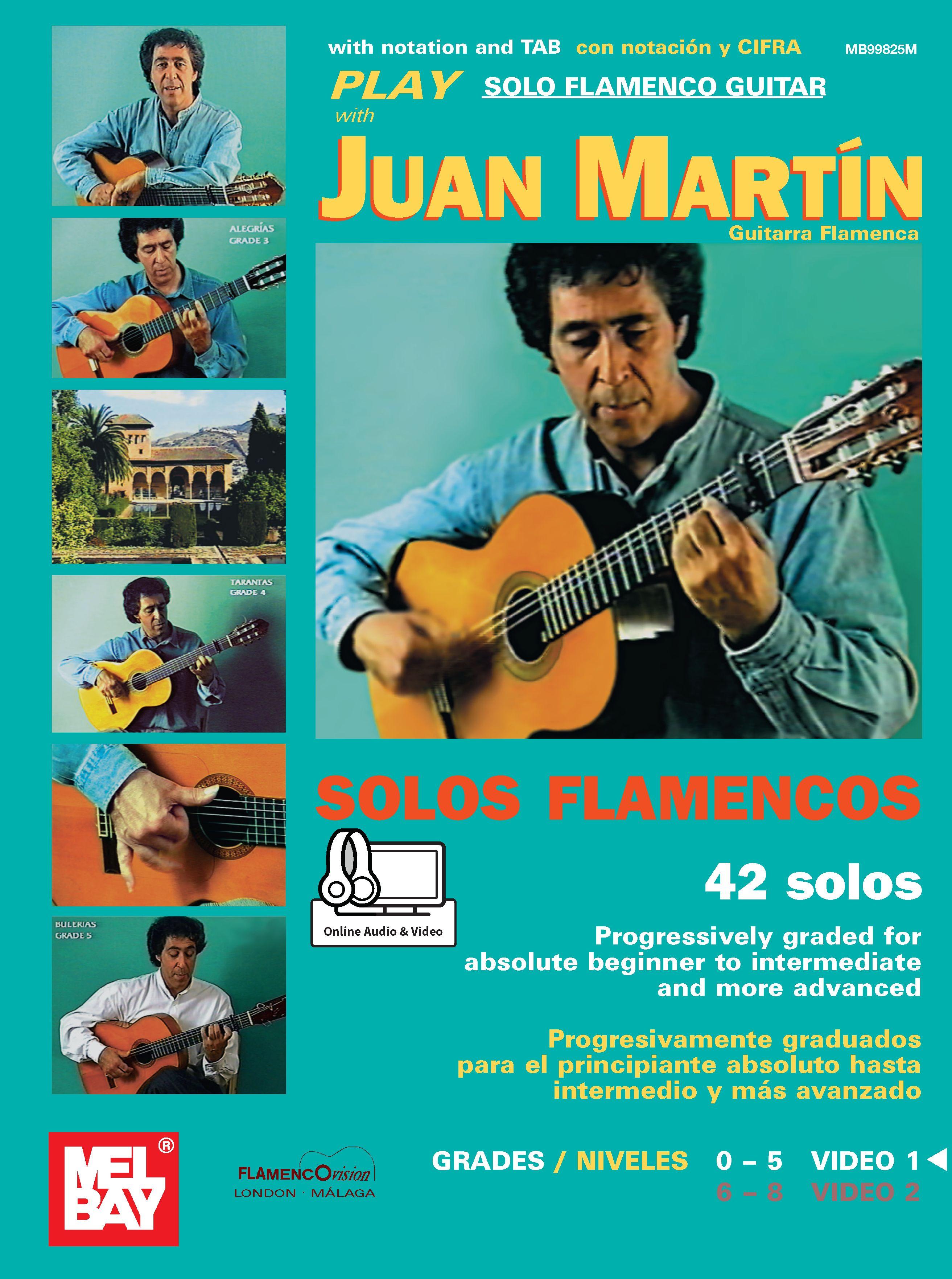 Juan Martin: Play Solo Flamenco Guitar - Vol. 1: Guitar: Instrumental Album
