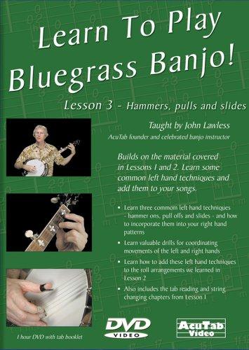 John Lawless: Learn To Play Bluegrass Banjo  Lesson 3: Banjo: Instrumental Tutor