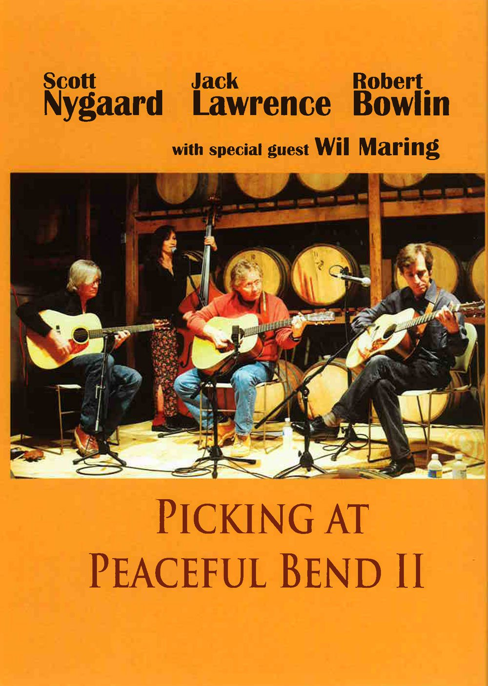 Nygaard Lawrence Bowlin: Picking At Peaceful Bend Ii: Guitar: Recorded