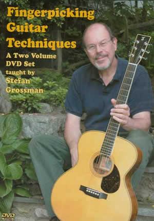 Stefan Grossman: Fingerpicking Guitar Techniques: Guitar: Instrumental Tutor