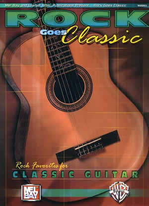 Corey Christiansen: Rock Goes Classic: Classical Guitar: Instrumental Album