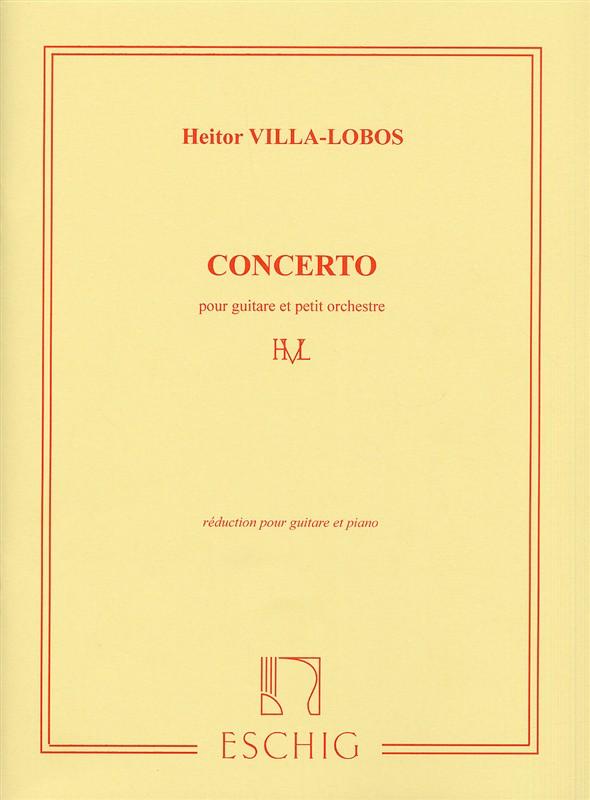 Heitor Villa-Lobos: Concerto: Guitar: Instrumental Work