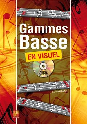 Bruno Desgranges: Les gammes de la basse en visuel: Bass Guitar Solo: