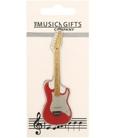 Music Gift Magnet Electric Guitar: Ornament