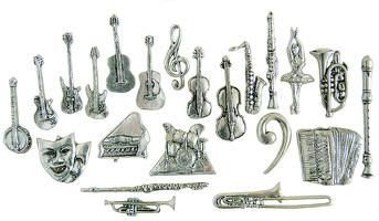 Pin Spanish Guitar: Jewellery