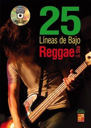 Bruno Tejeiro: 25 líneas de bajo Reggae y Ska: Bass Guitar: Instrumental Album