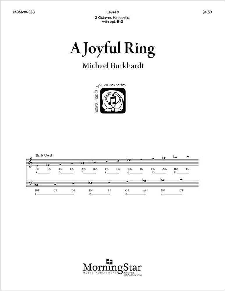 Michael Burkhardt: A Joyful Ring: Handbells: Instrumental Work