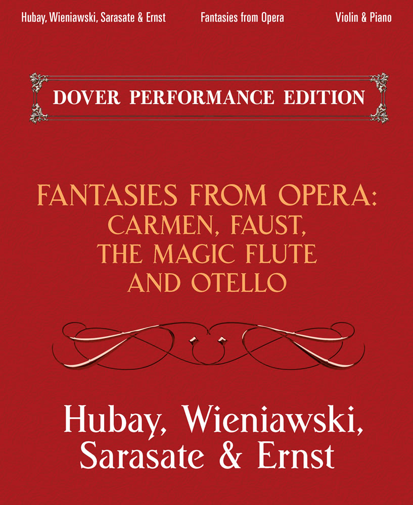 Fantasies From Opera For Violin And Piano: Violin: Instrumental Album