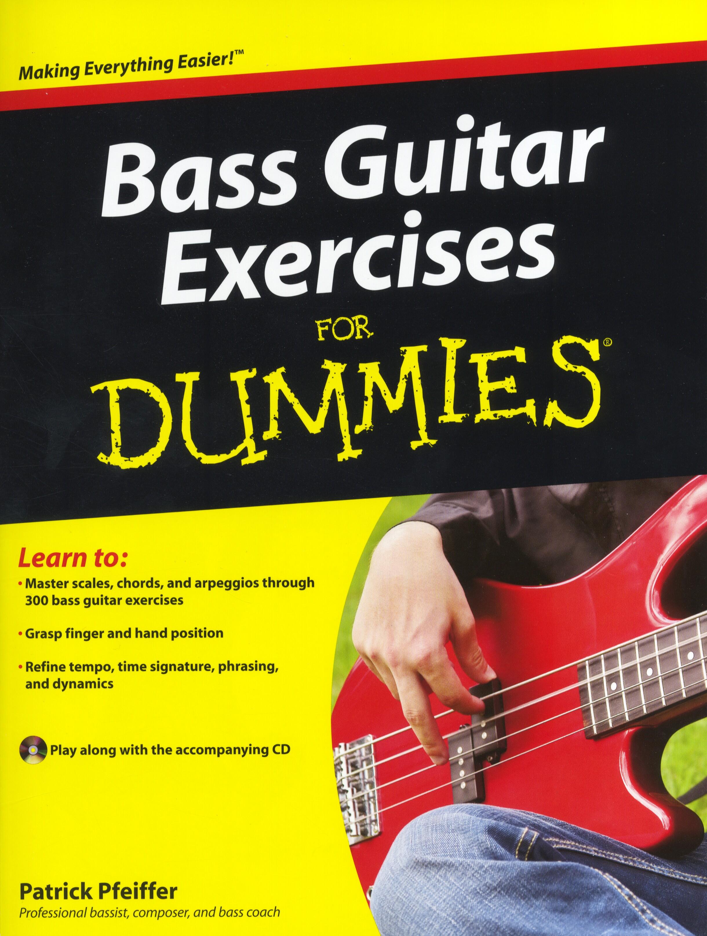 Patrick Pfeiffer: Bass Guitar Exercises For Dummies: Bass Guitar: Instrumental