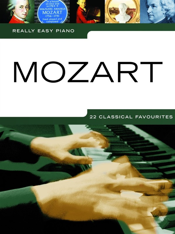 Wolfgang Amadeus Mozart: Really Easy Piano: Mozart: Easy Piano: Instrumental