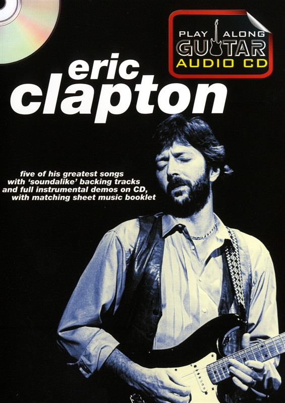 Guitar Play-Along Vol.155 Eric Clapton From The Album Unplugged Cd