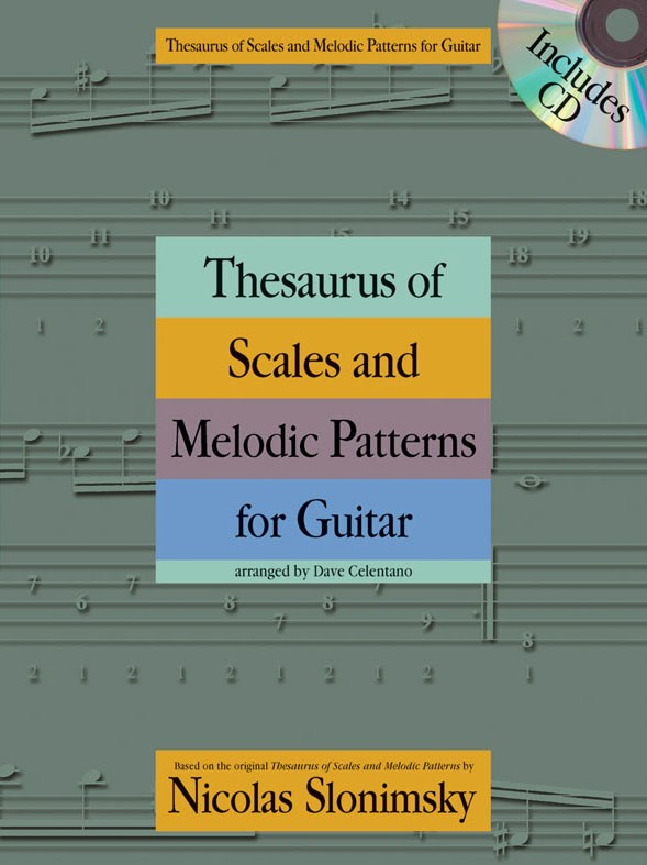 Thesaurus of Scales and Melodic Patterns: Guitar TAB: Instrumental Reference