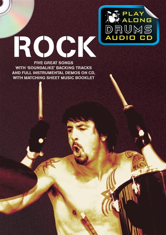 Play Along Drums Audio CD: Rock: Drum Kit: Backing Tracks