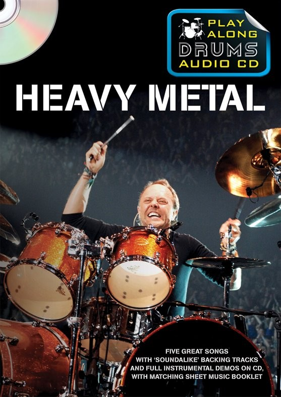 Play Along Drums Audio CD: Heavy Metal: Drum Kit: Backing Tracks