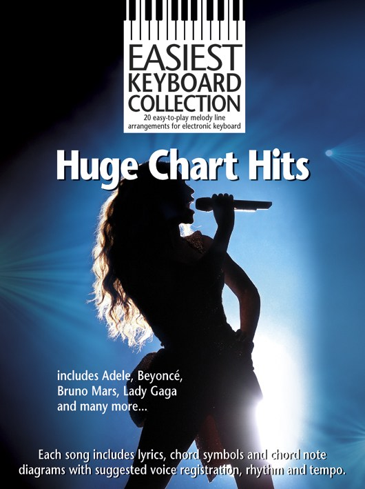 Easiest Keyboard Collection: Huge Chart Hits: Electric Keyboard: Mixed Songbook