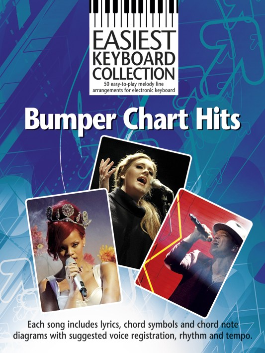 Easiest Keyboard Collection: Bumper Chart HIts: Electric Keyboard: Mixed