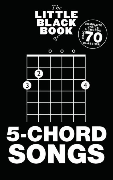 The Little Black Book Of 5-Chord Songs: Guitar: Mixed Songbook