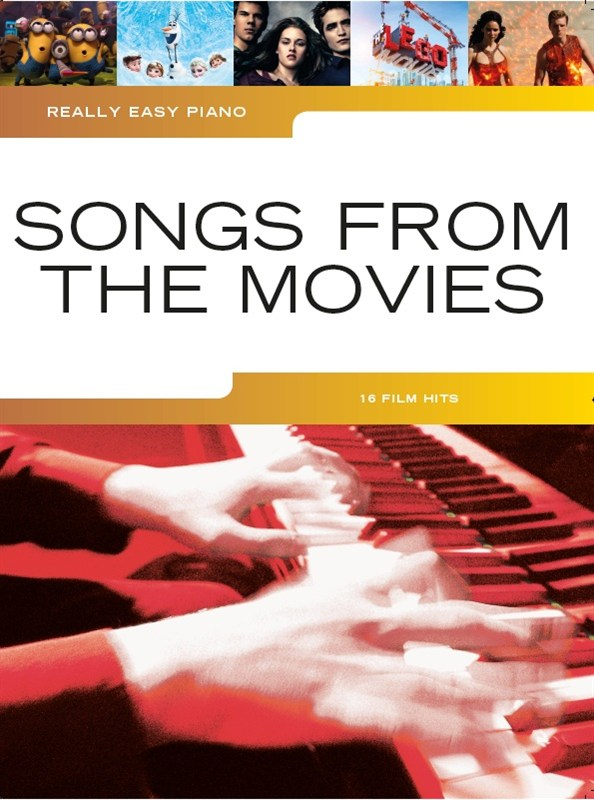 Really Easy Piano: Songs from the Movies: Easy Piano: Mixed Songbook