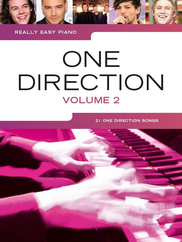 One Direction: Really Easy Piano: One Direction Volume 2: Easy Piano: Artist